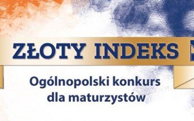 """Konkurs dla maturzystów """"O Złoty Indeks PK"""" – rejestracja trwa"""