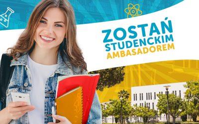 Zostań studenckim ambasadorem Politechniki Krakowskiej