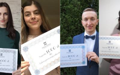Politechnika Krakowska nagrodziła Liderów pierwszego roku studiów